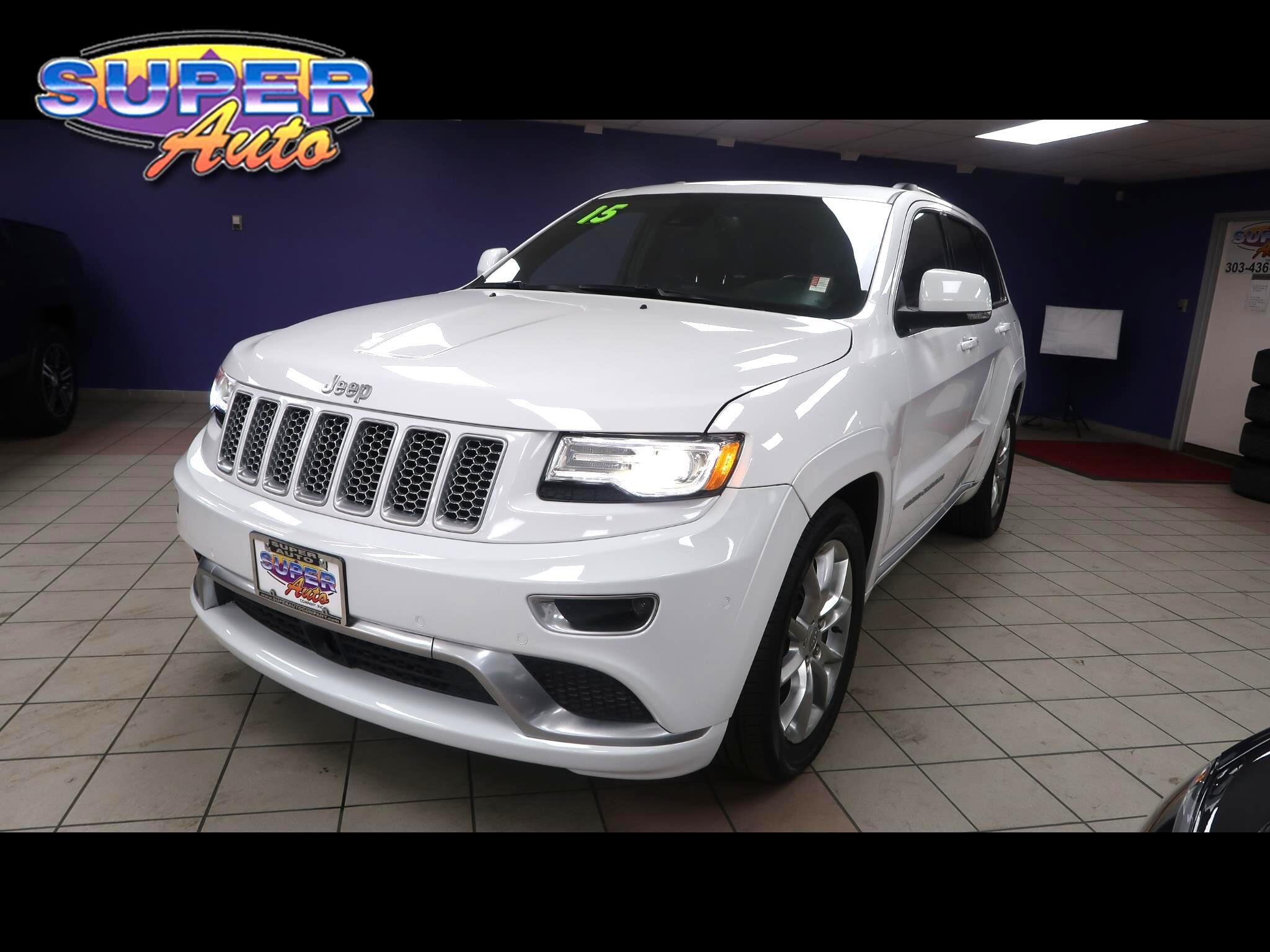 2015 Jeep Grand Cherokee 4WD 4dr Summit