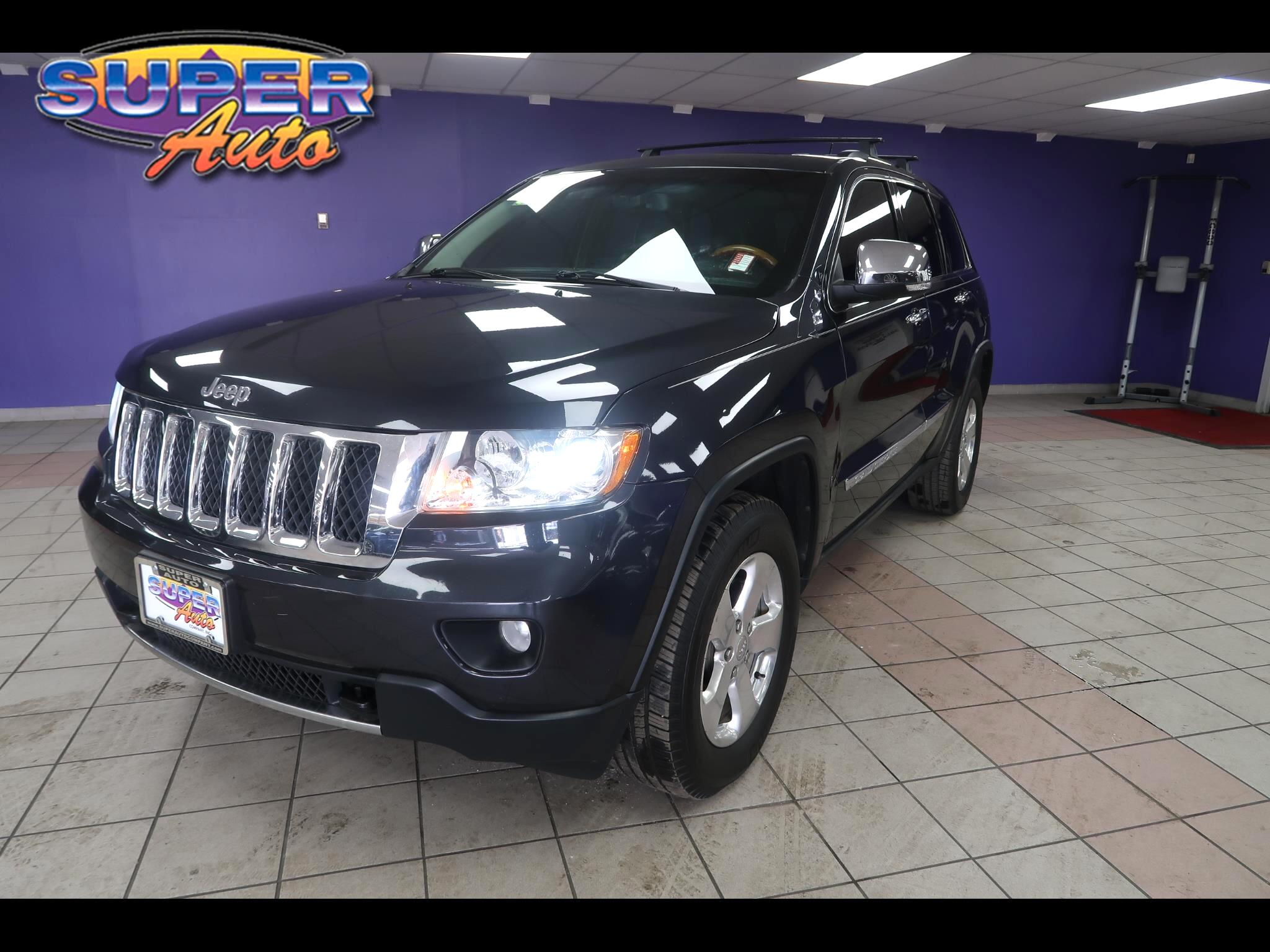 2013 Jeep Grand Cherokee 4WD 4dr Overland