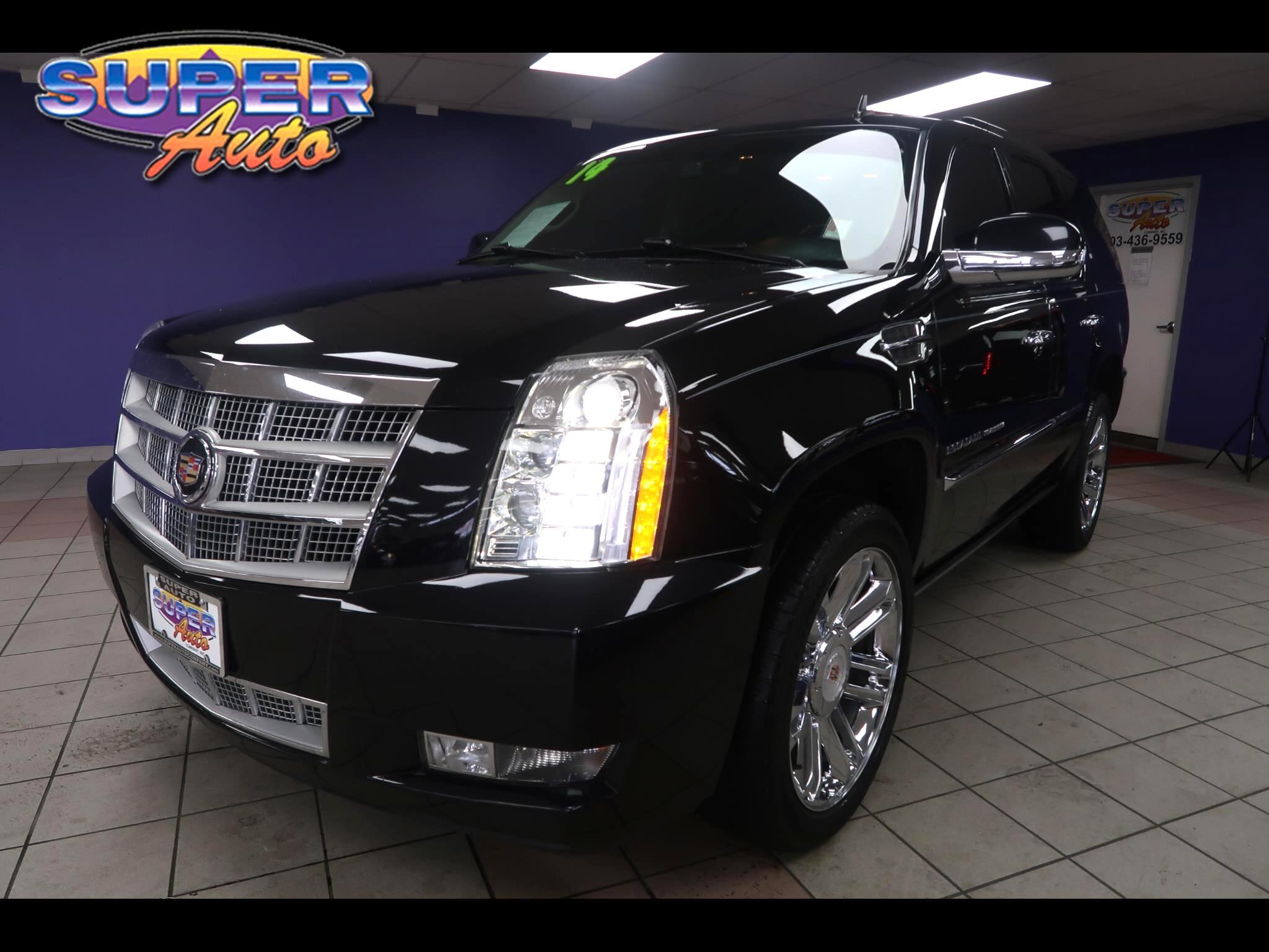 2014 Cadillac Escalade AWD 4dr Platinum