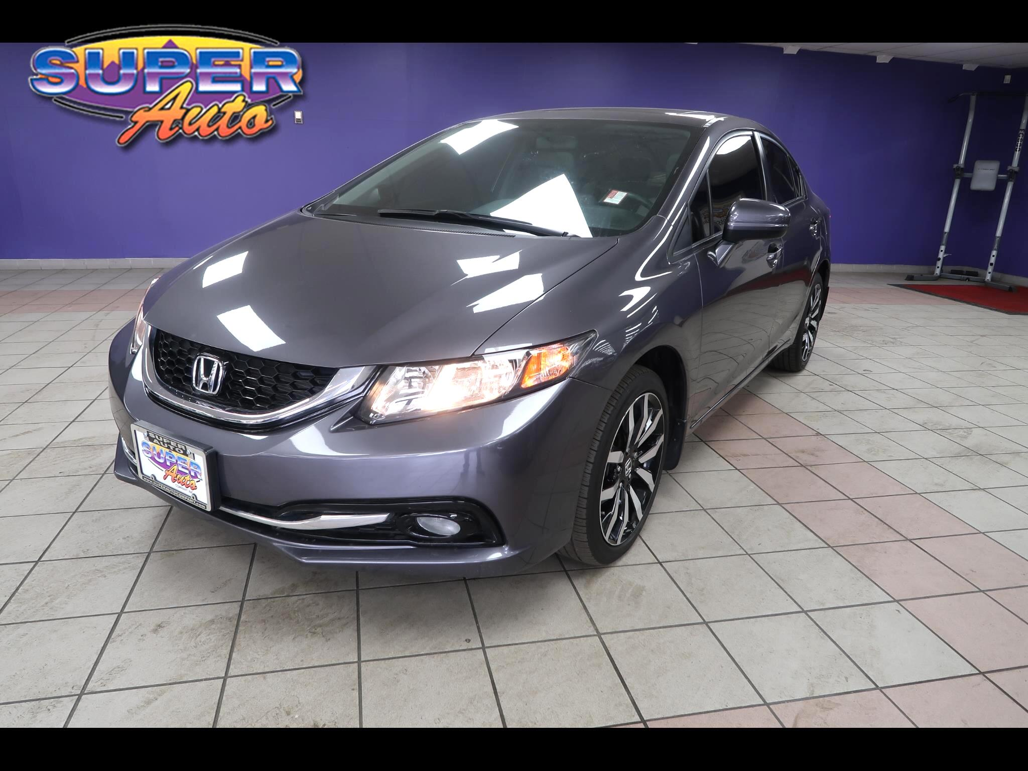 Honda Civic Sedan 4dr CVT EX-L 2015