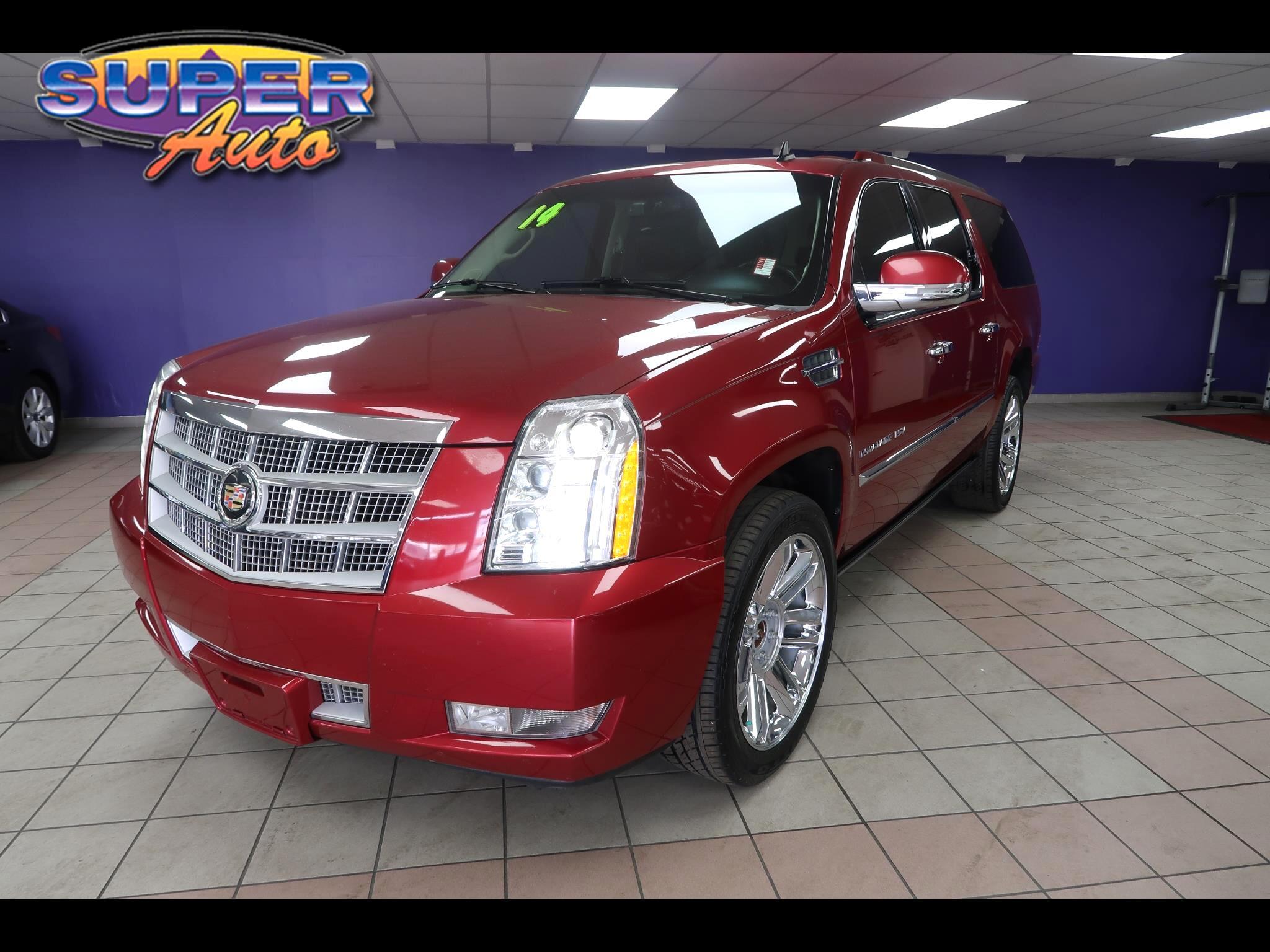2014 Cadillac Escalade ESV AWD 4dr Platinum