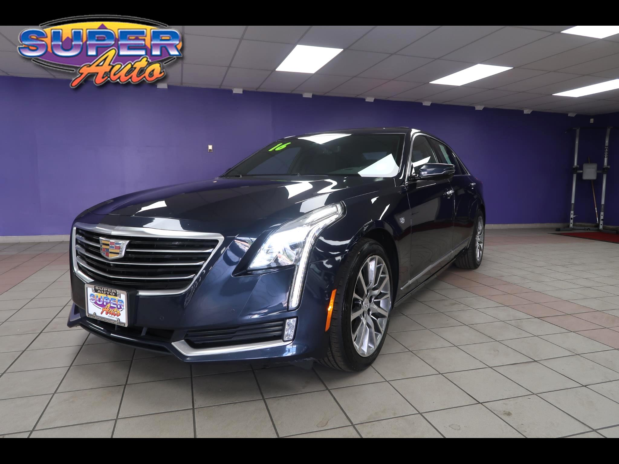 2016 Cadillac CT6 4dr Sdn 3.6L Luxury AWD