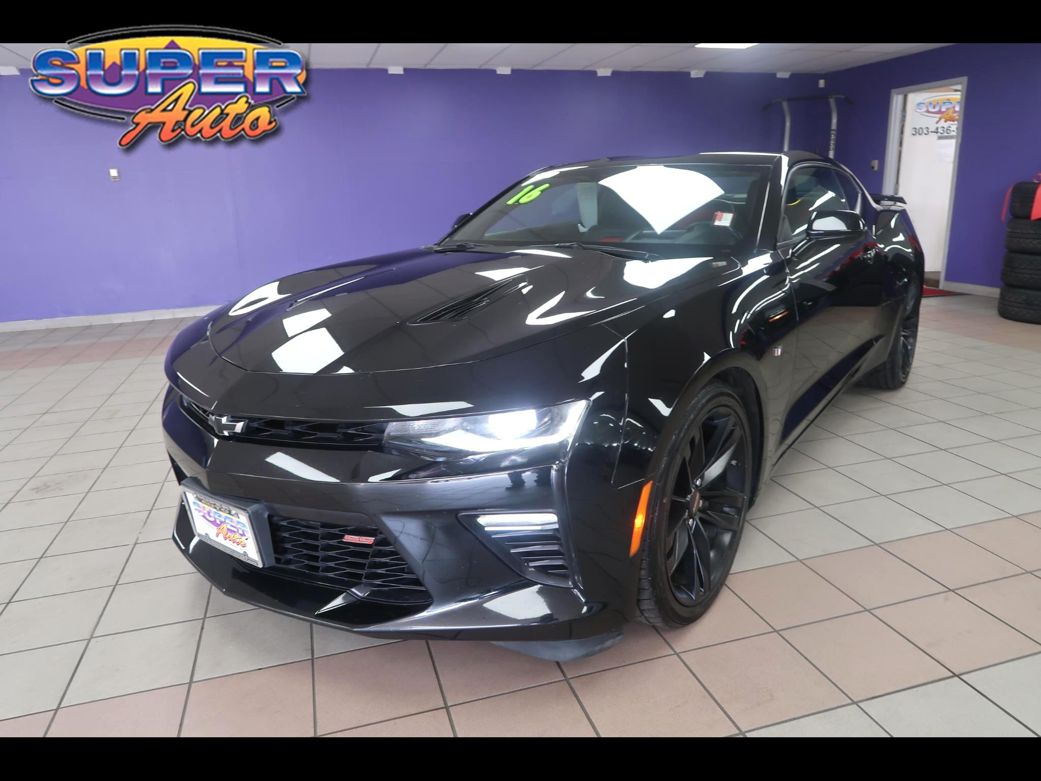 2016 Chevrolet Camaro 2dr Cpe SS w/2SS