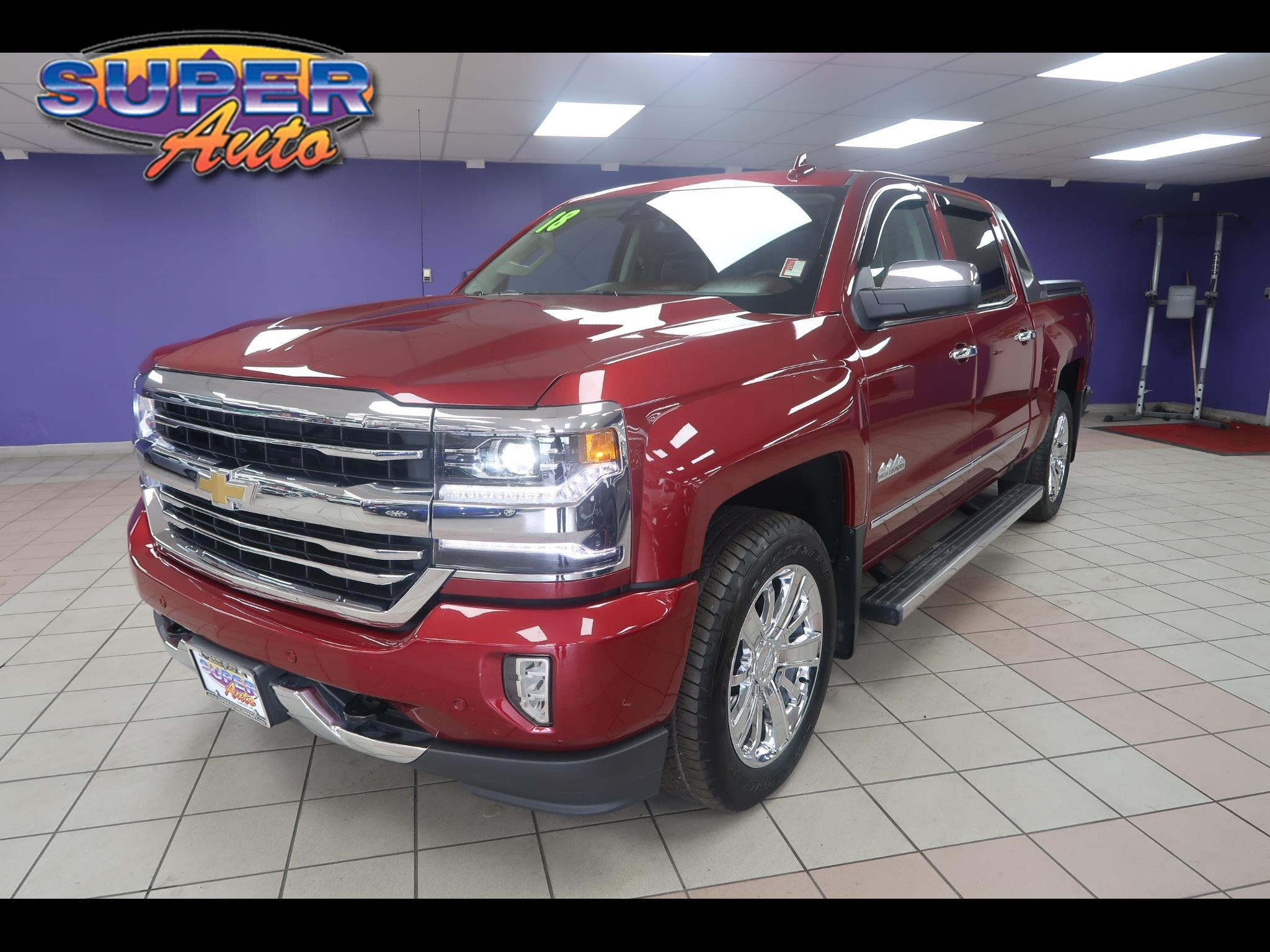 "2018 Chevrolet Silverado 1500 4WD Crew Cab 143.5"" High Country"
