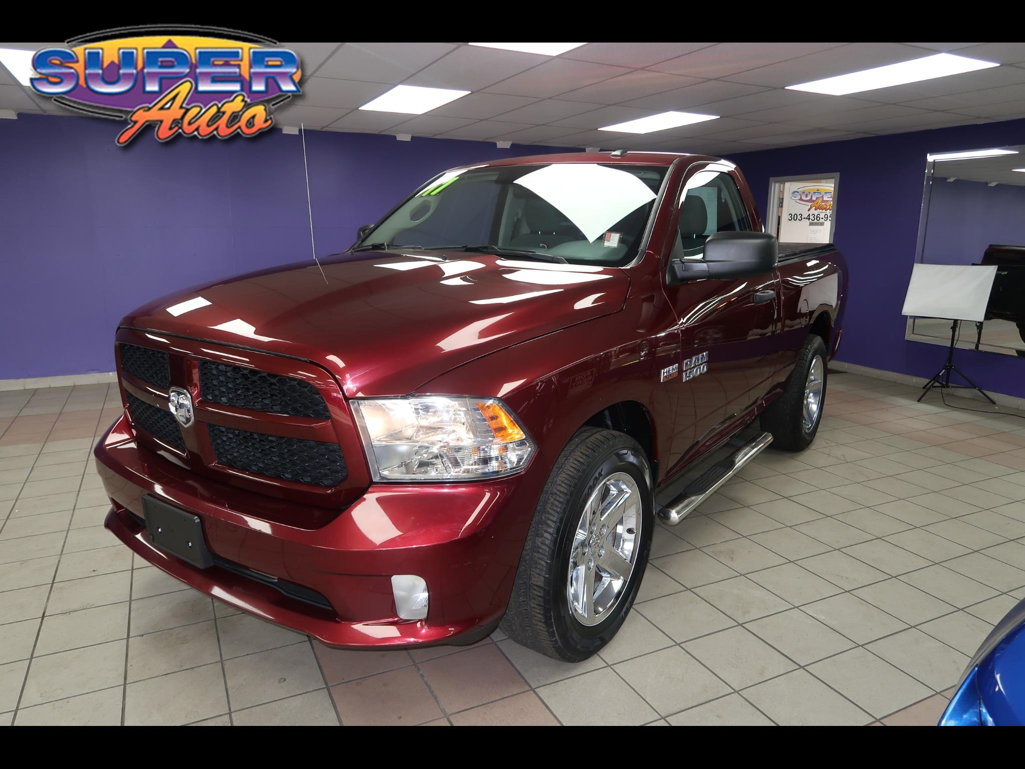 "RAM 1500 Express 4x2 Regular Cab 6'4"" Box 2017"