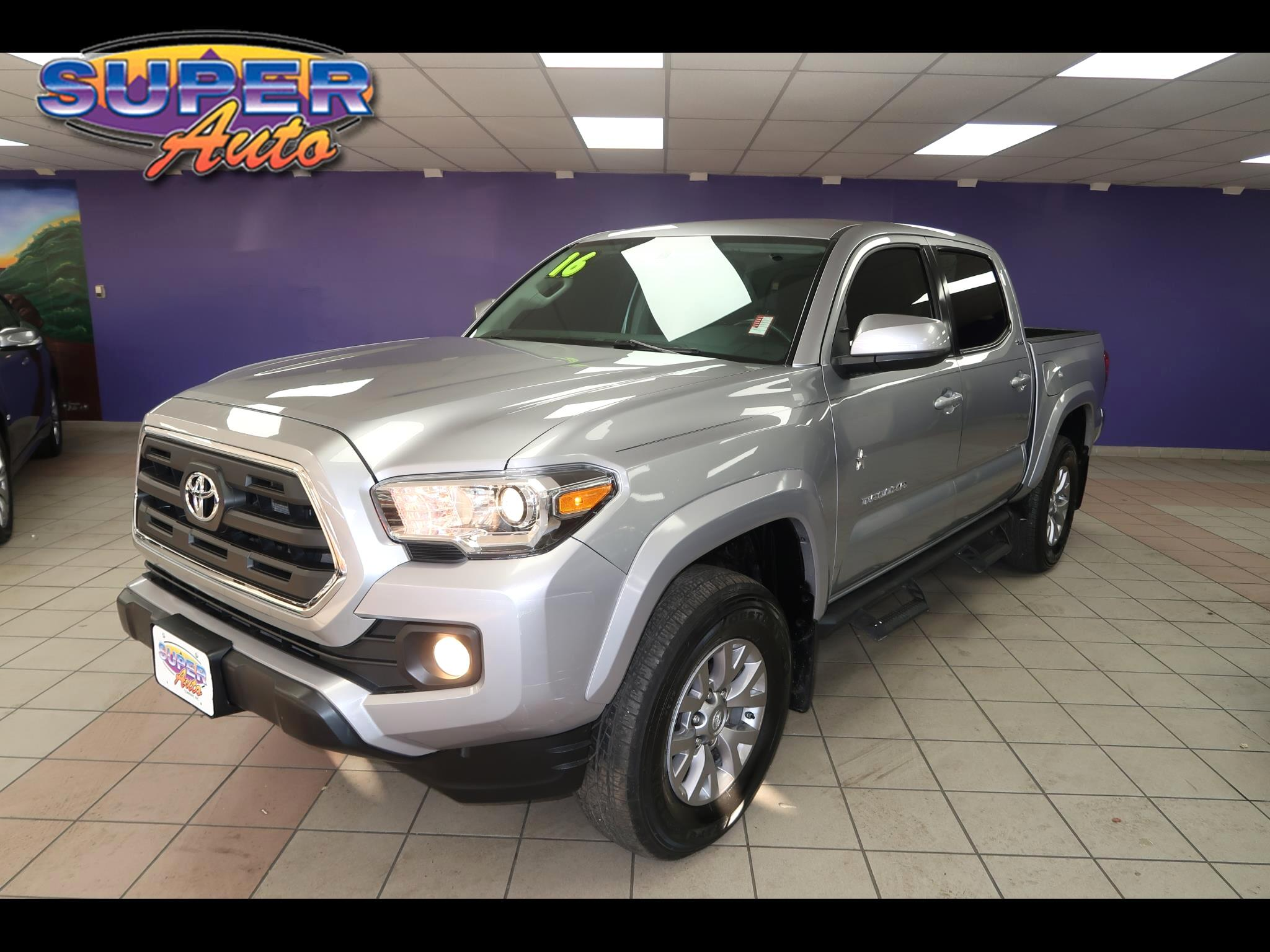 2016 Toyota Tacoma 4WD Double Cab V6 AT SR (Natl)