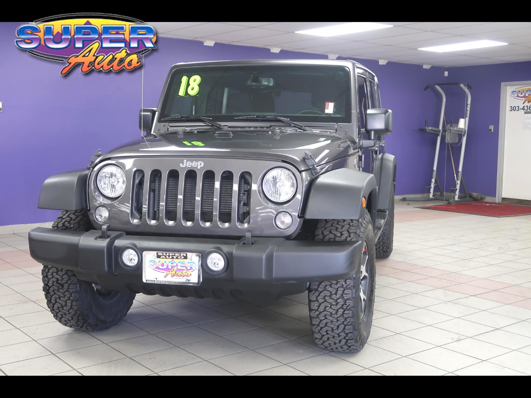 Jeep Wrangler JK Unlimited Sport S 4x4 2018