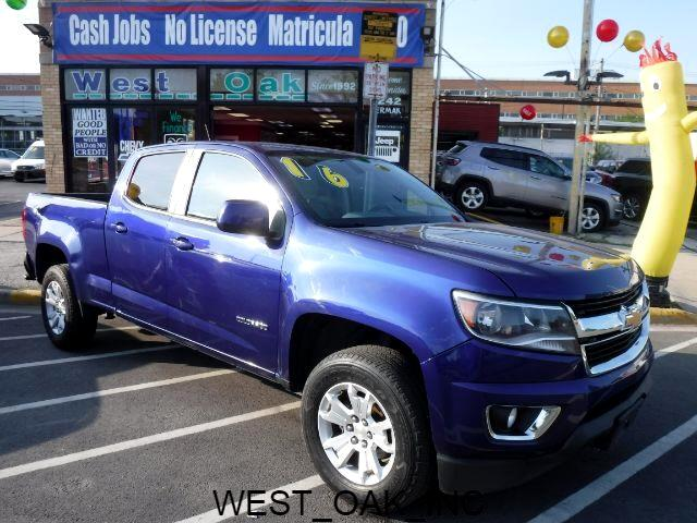 Chevrolet Colorado LT Crew Cab 4WD Short Box 2016