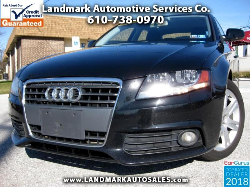 used 2011 audi a4 2 0 t sedan fronttrak multitronic for sale in west chester pa 19380 landmark. Black Bedroom Furniture Sets. Home Design Ideas