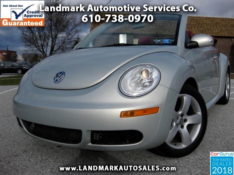 2009 Volkswagen New Beetle Blush 2.5 Convertible