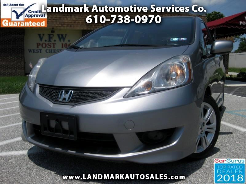 2010 Honda Fit Sport 5-Speed MT
