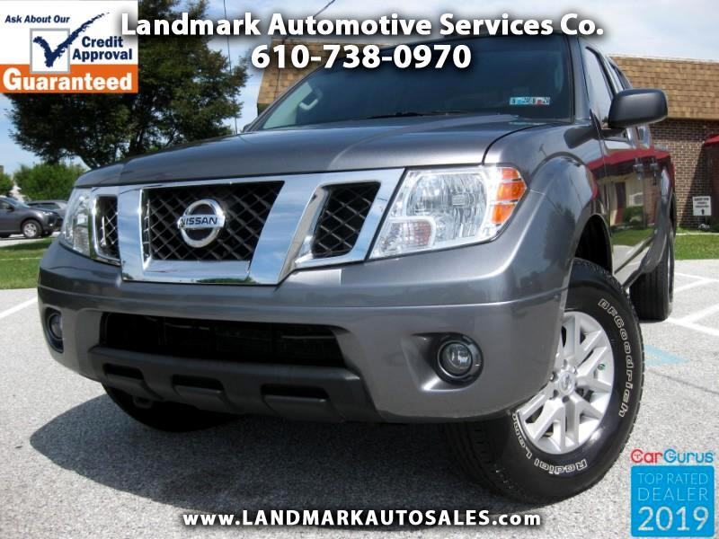2016 Nissan Frontier SV Crew Cab 5AT 4WD