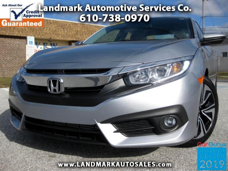 Honda Civic EX-TL Sedan CVT 2016