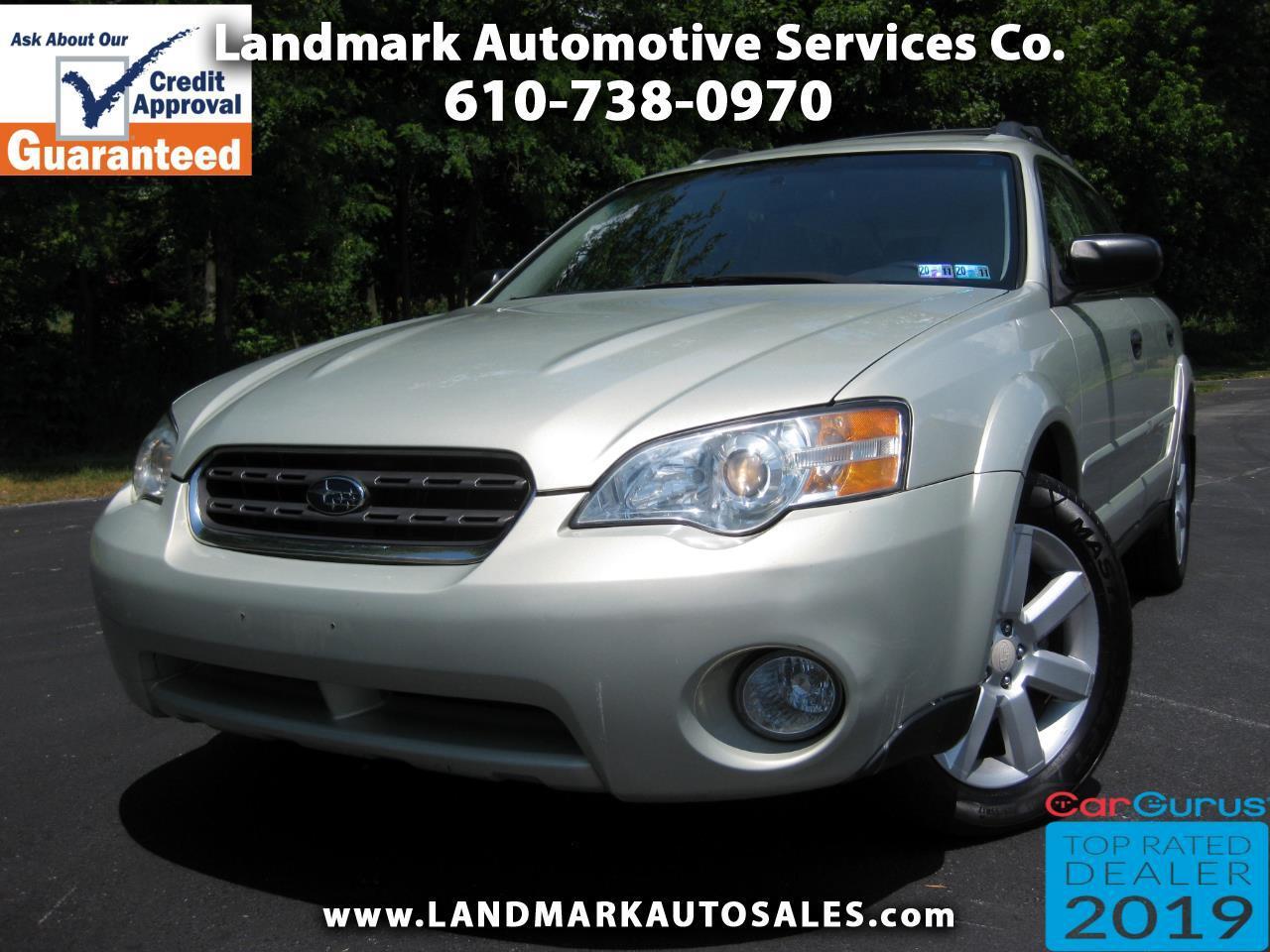 Subaru Legacy Wagon Outback 2.5i Auto 2006