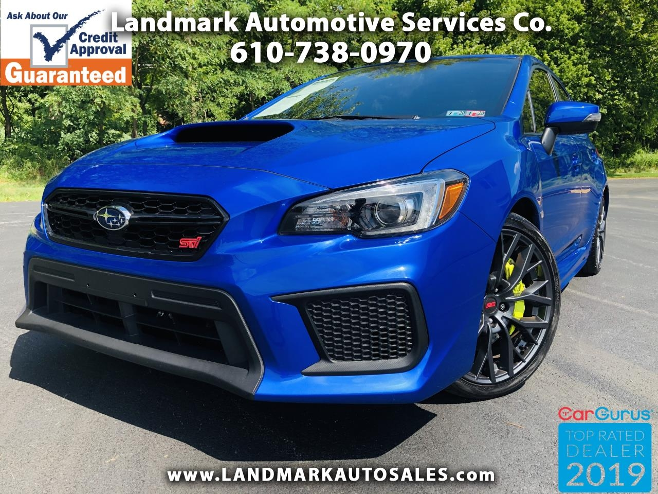 Subaru WRX STI Limited Manual w/Wing Spoiler 2019