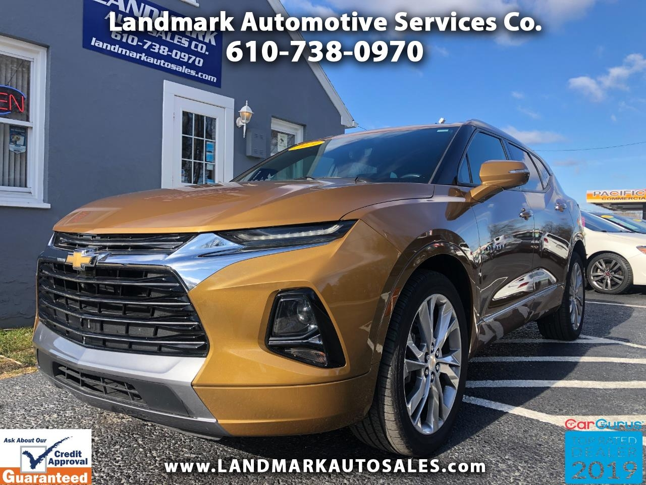 Chevrolet Blazer AWD 4dr Premier 2019