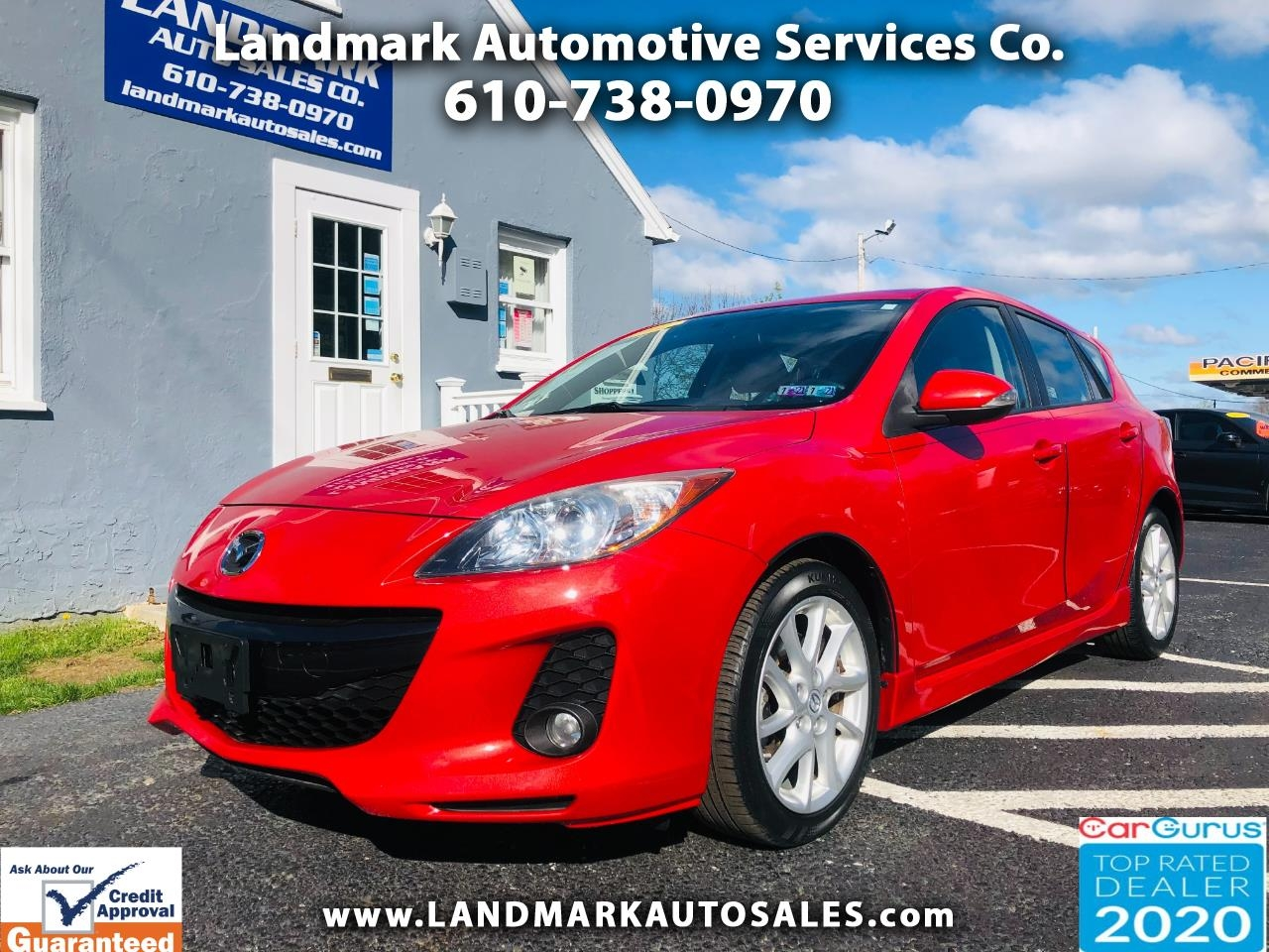 Mazda MAZDA3 5dr HB Auto s Touring 2012