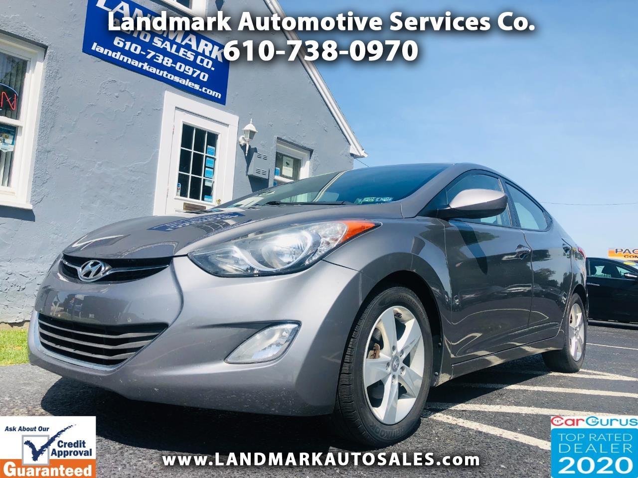 Hyundai Elantra 4dr Sdn Auto GLS PZEV (Alabama Plant) 2013
