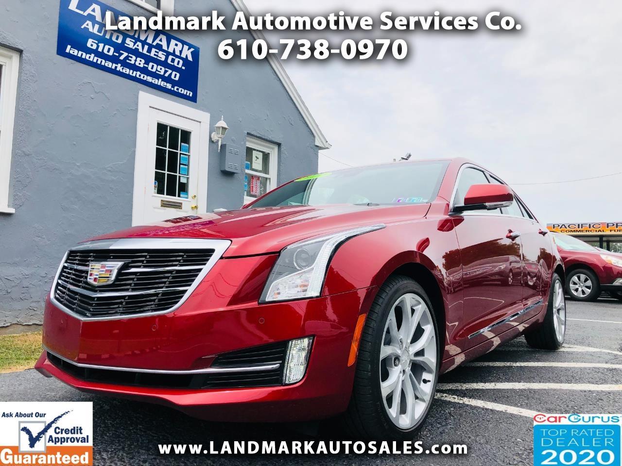 Cadillac ATS Sedan 4dr Sdn 3.6L Premium Luxury AWD 2017