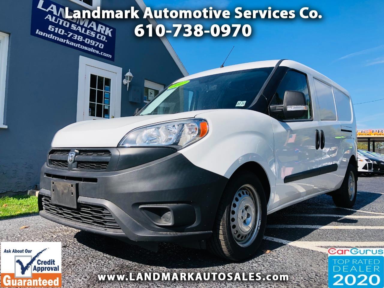 RAM ProMaster City Cargo Van Tradesman Van 2017