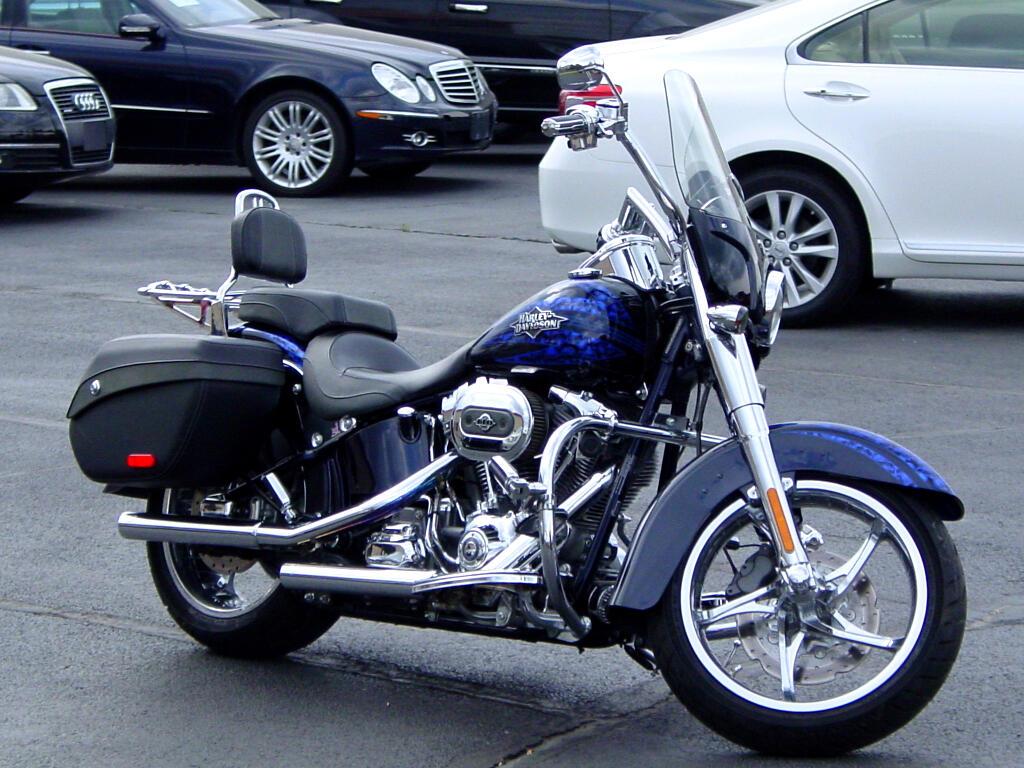 2012 Harley-Davidson FLSTFSE CVO Softail Convertable