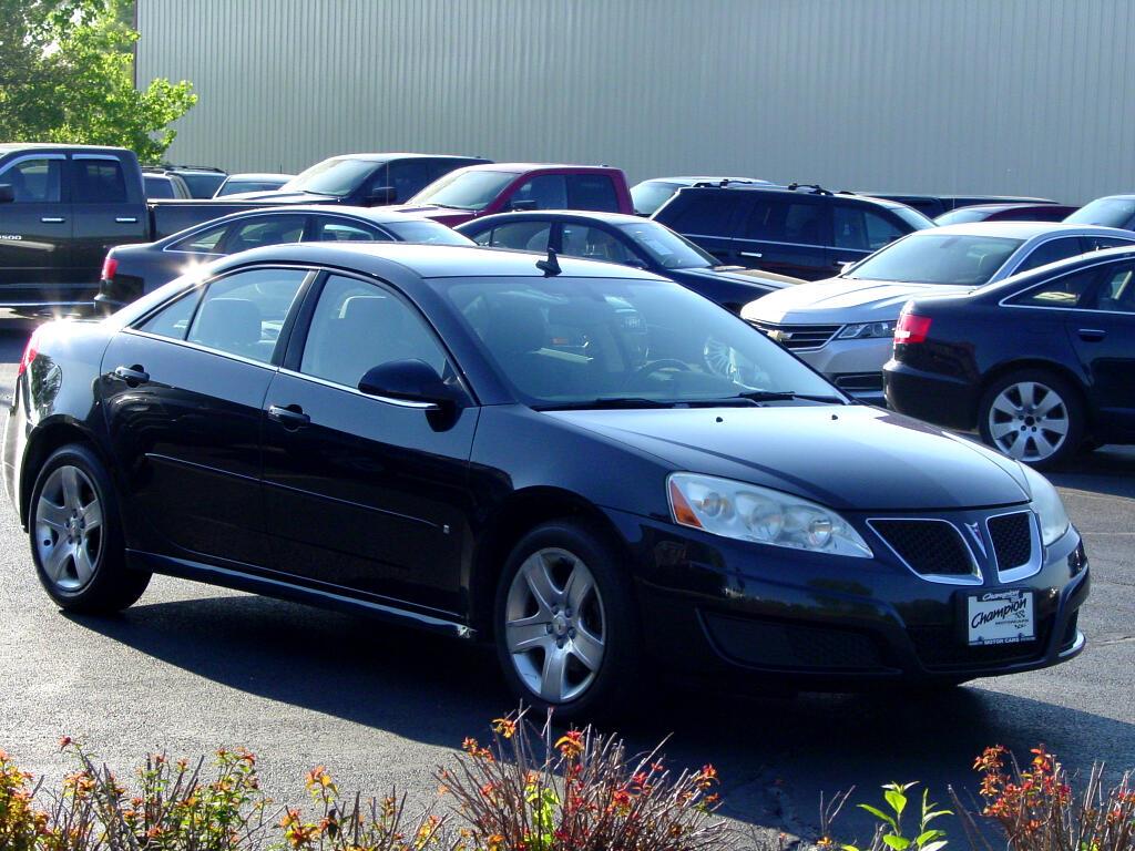 2009 Pontiac G6 4dr Sdn w/1SB