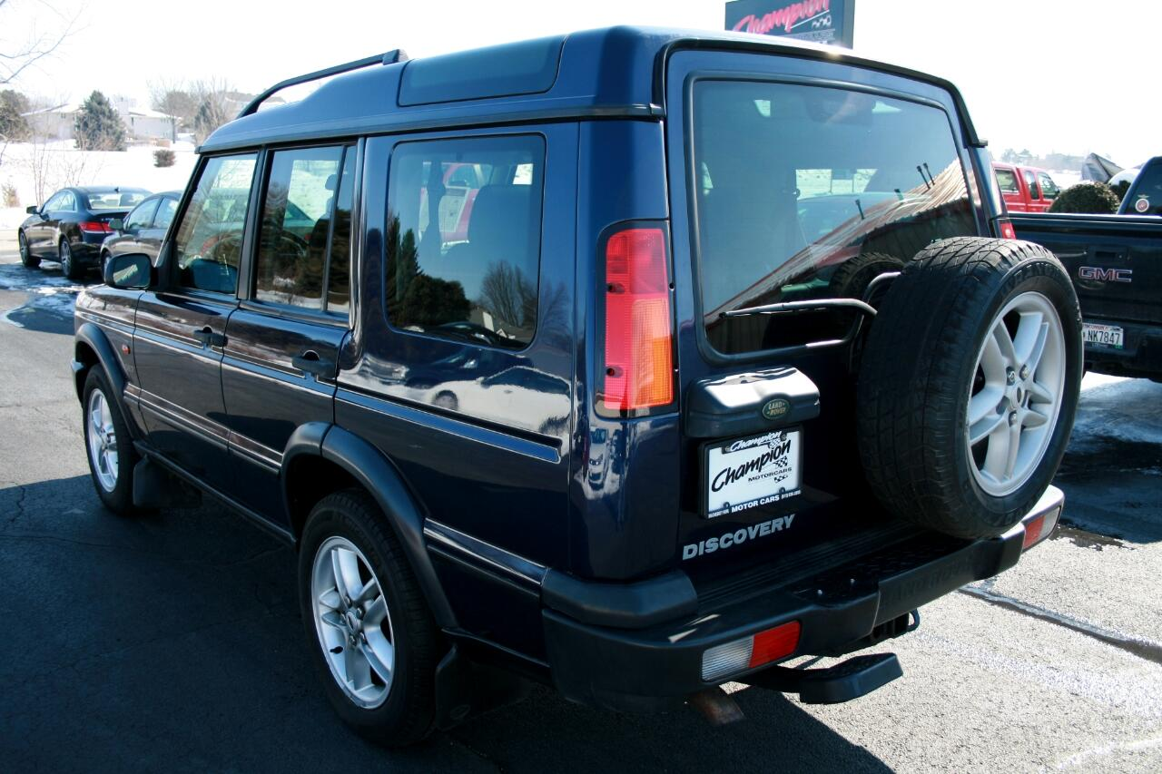 2003 Land Rover Discovery 4dr Wgn SE