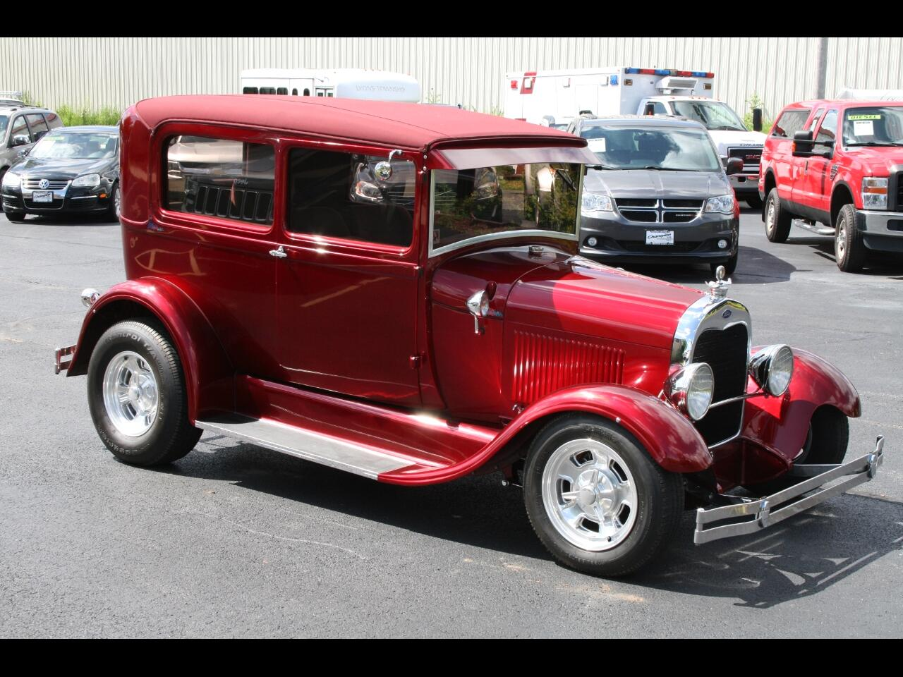1929 Ford A Tudor Hot Rod