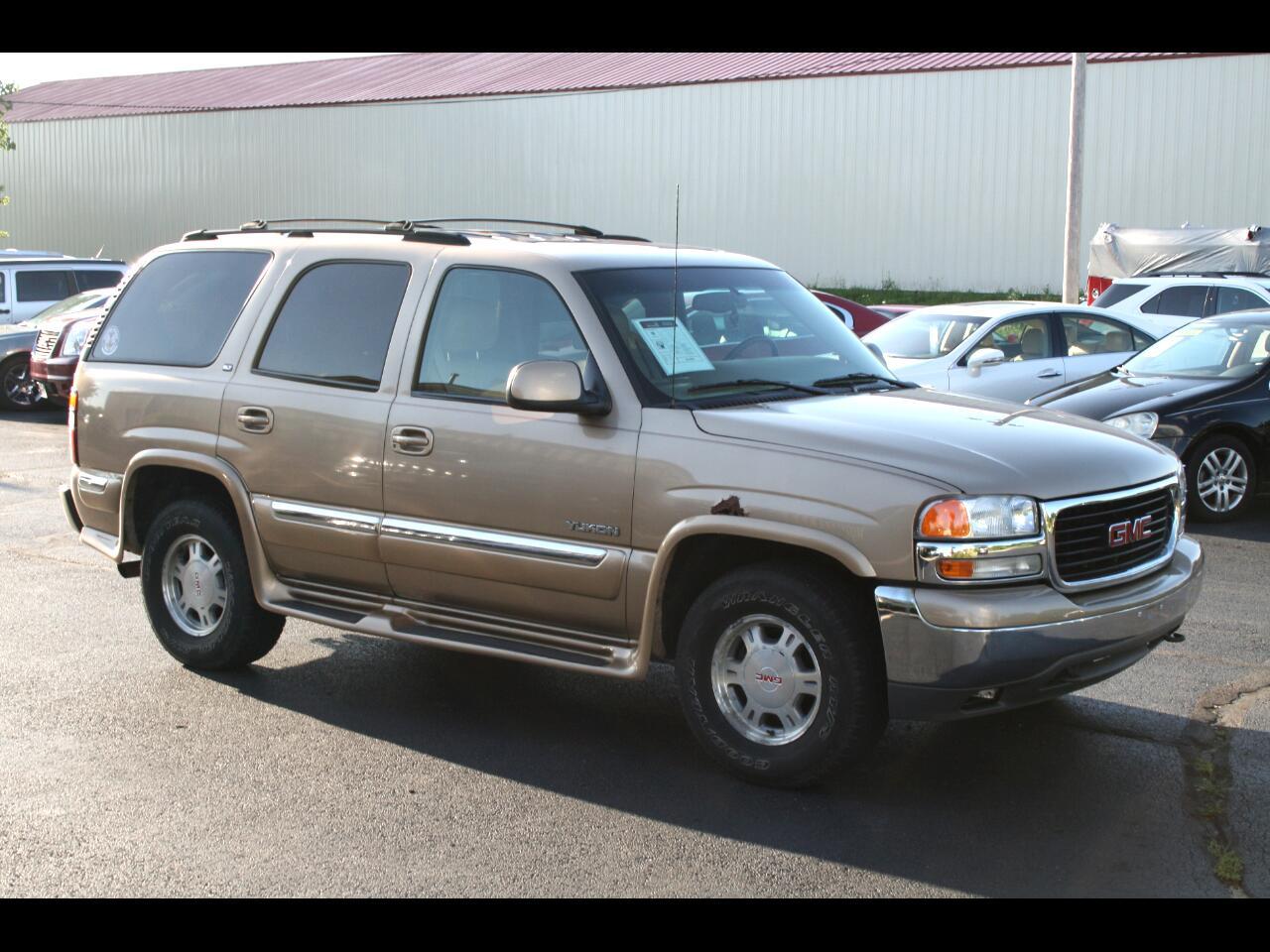 2000 GMC Yukon 4dr 4WD SLT