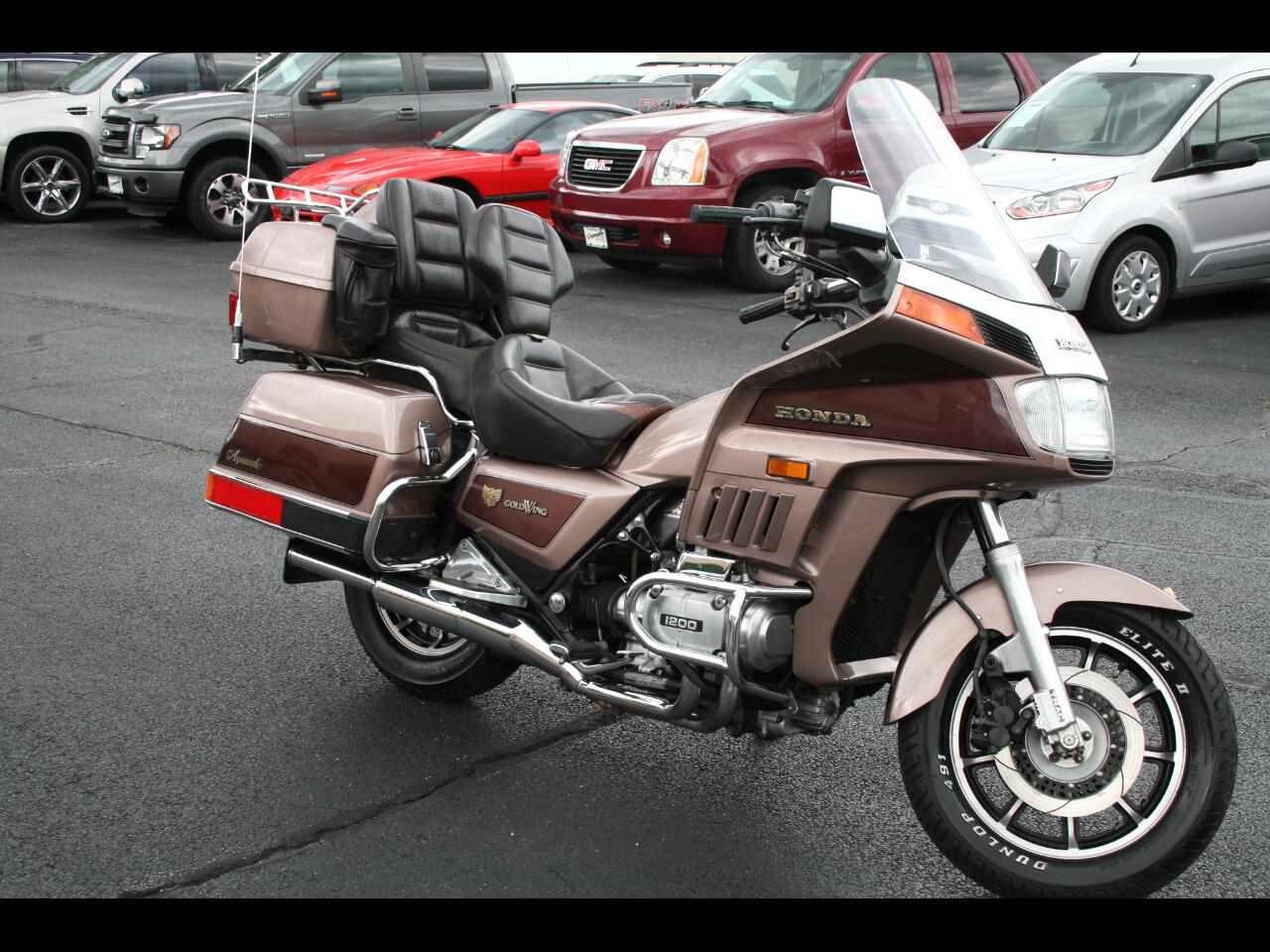 1986 Honda Goldwing 1200 Aspencade