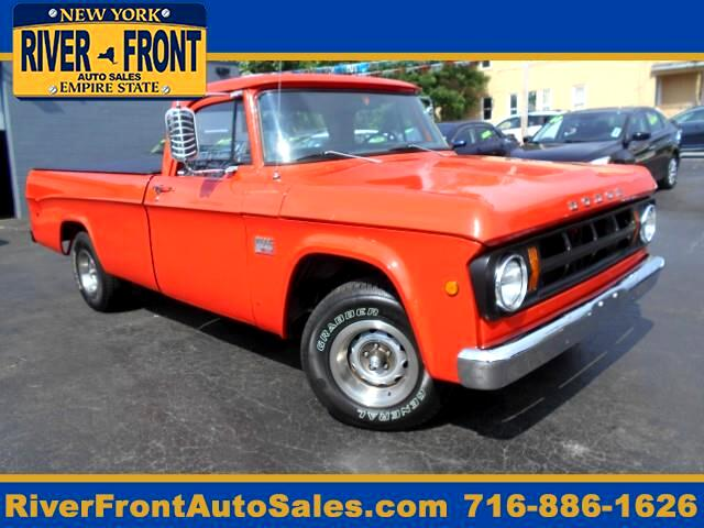 1969 Dodge D100 318 V8 4 SPEED MANUAL