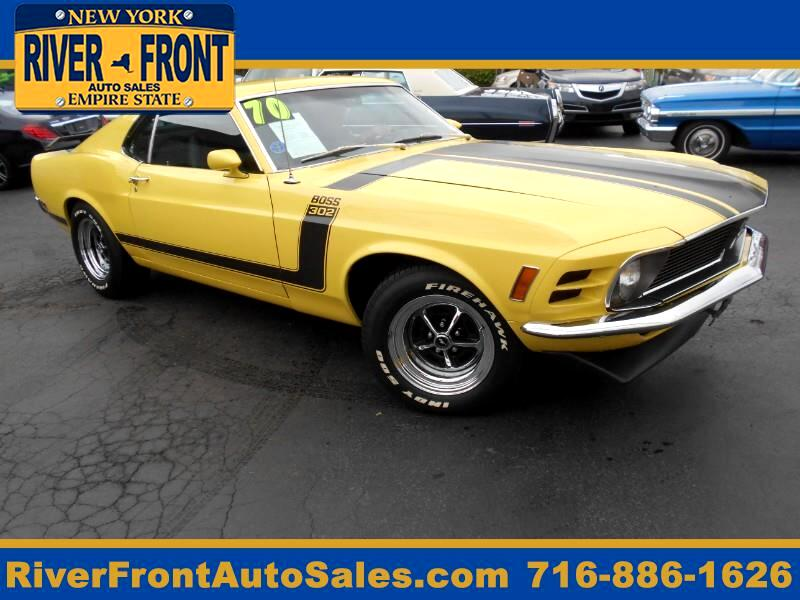Ford Mustang 2dr Cpe Boss 302 1970