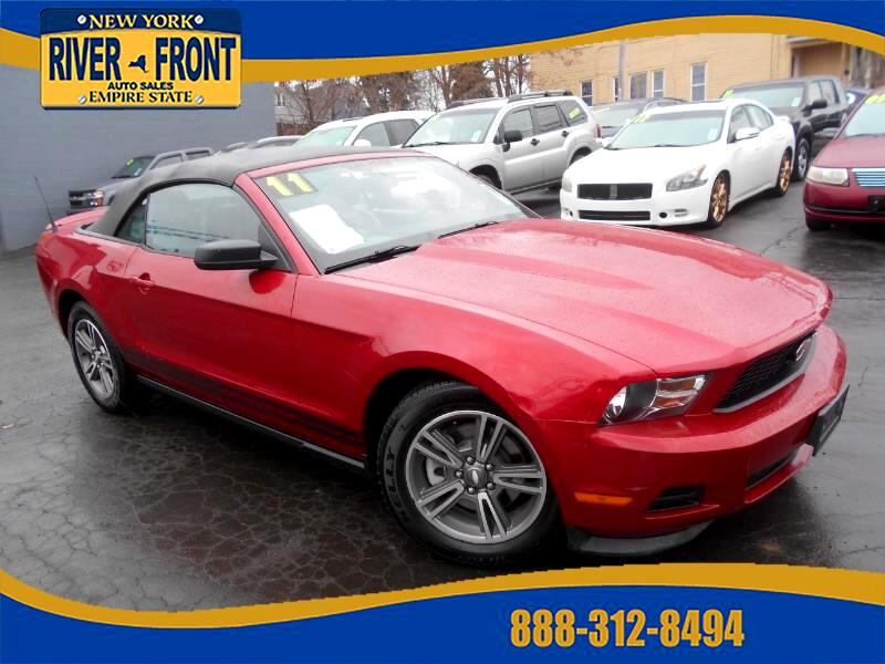 2011 Ford Mustang V6 Convertible