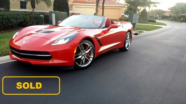 2014 Chevrolet Corvette Stingray Z51 3 LT