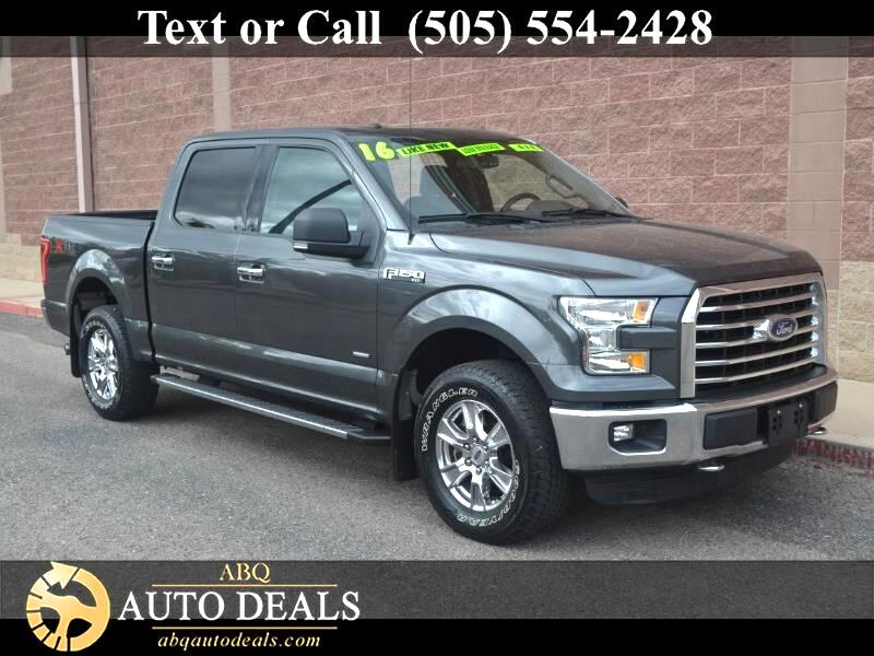 2016 Ford F-150 4WD SuperCrew 139