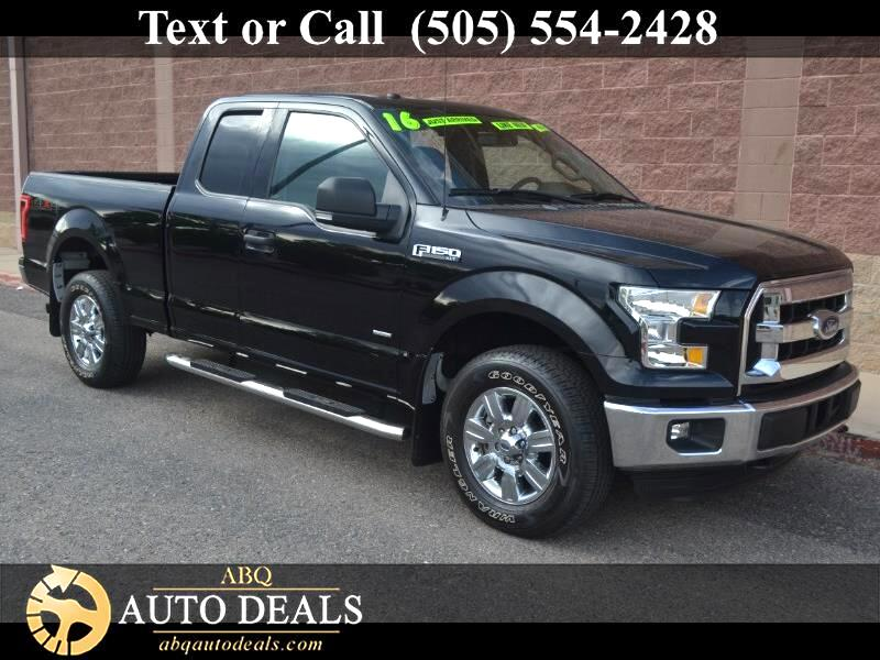 "Ford F-150 4WD SuperCab 133"" XLT 2016"
