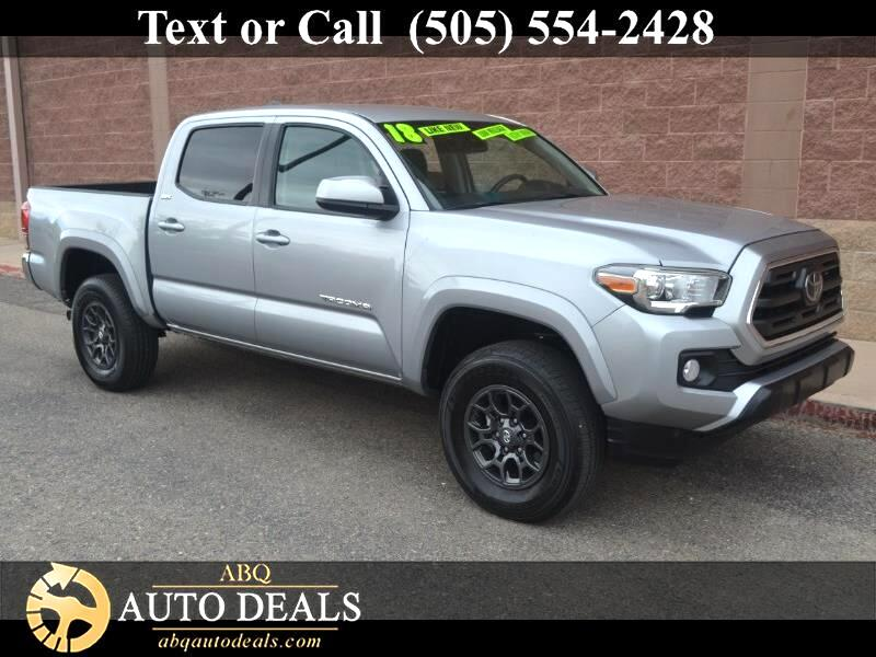 2018 Toyota Tacoma 4WD SR5 Double Cab 5' Bed V6 AT (Natl)
