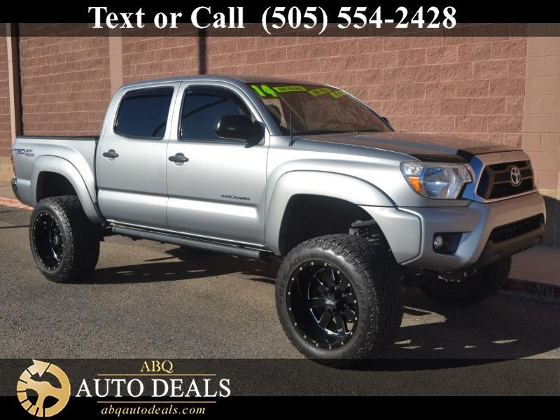 2014 Toyota Tacoma TRD Off Road Double Cab 5' Bed V6 4x4 AT (Natl)