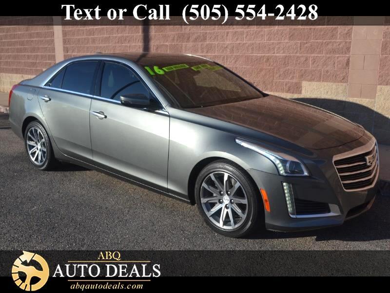 2016 Cadillac CTS 2.0L Turbo Luxury RWD