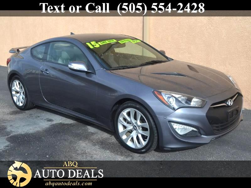 Hyundai Genesis Coupe 3.8 8AT 2015