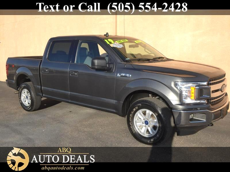 "Ford F-150 4WD SuperCrew 150"" XLT 2019"