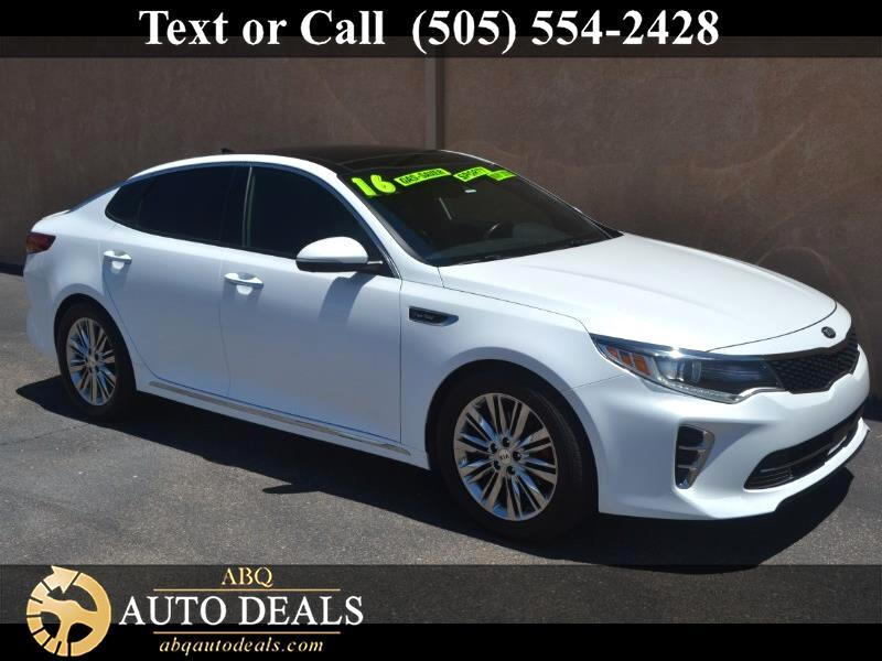 Kia Optima SXL Turbo 2016
