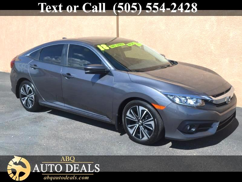 Honda Civic EX-T Sedan CVT 2018