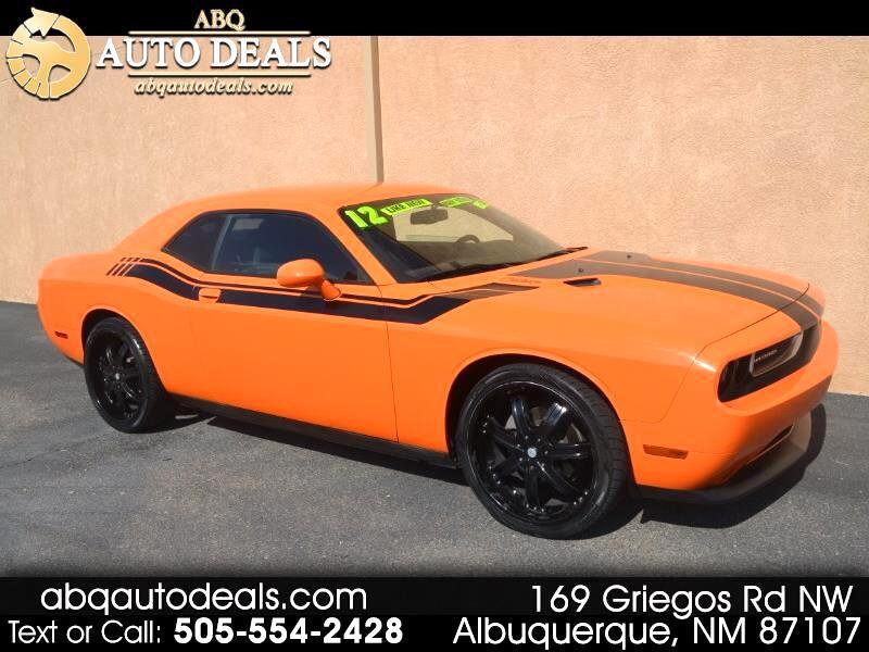 Dodge Challenger 2dr Cpe SXT 2012