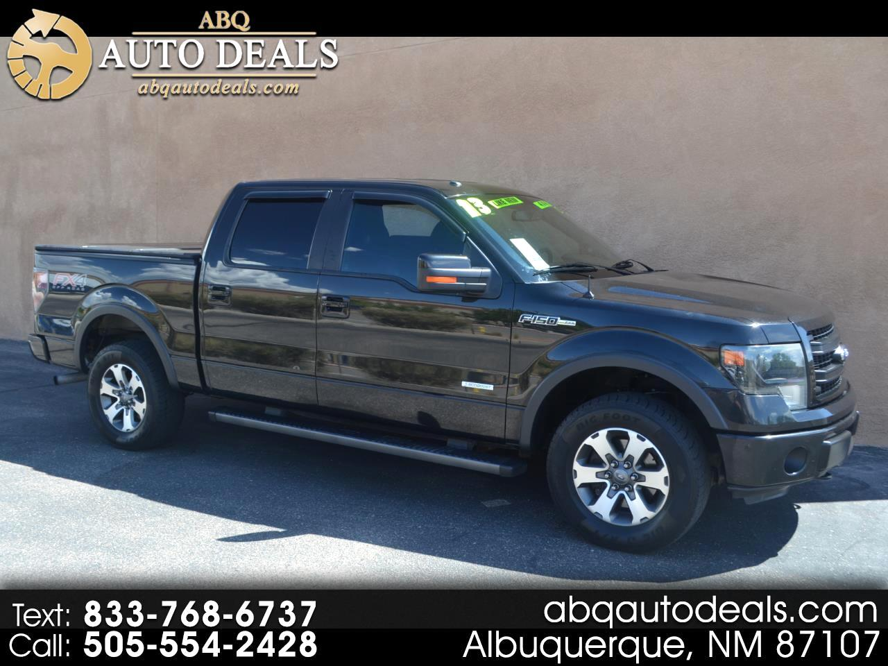 """Ford F-150 4WD SuperCrew 157"""" FX4 2013"""