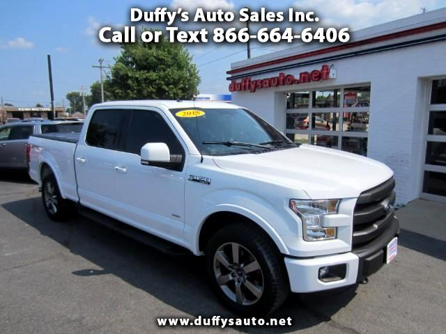 2015 Ford F-150 Lariat SuperCrew Sport 4WD