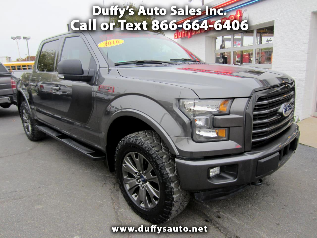 2016 Ford F-150 4WD SuperCrew Sport