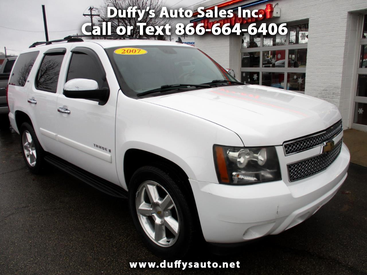Used Cars For Sale Ottawa Il 61350 Duffys Auto Sales Inc 03 F250 V10 Fuel Filter 2007 Chevrolet Tahoe 4wd 4dr 1500 Ltz