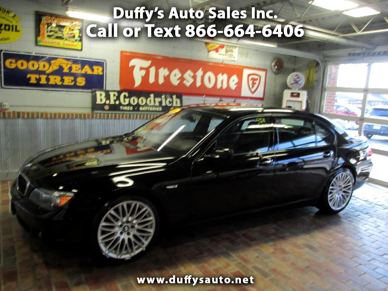 2007 BMW 7 Series 4dr Sdn 750Li
