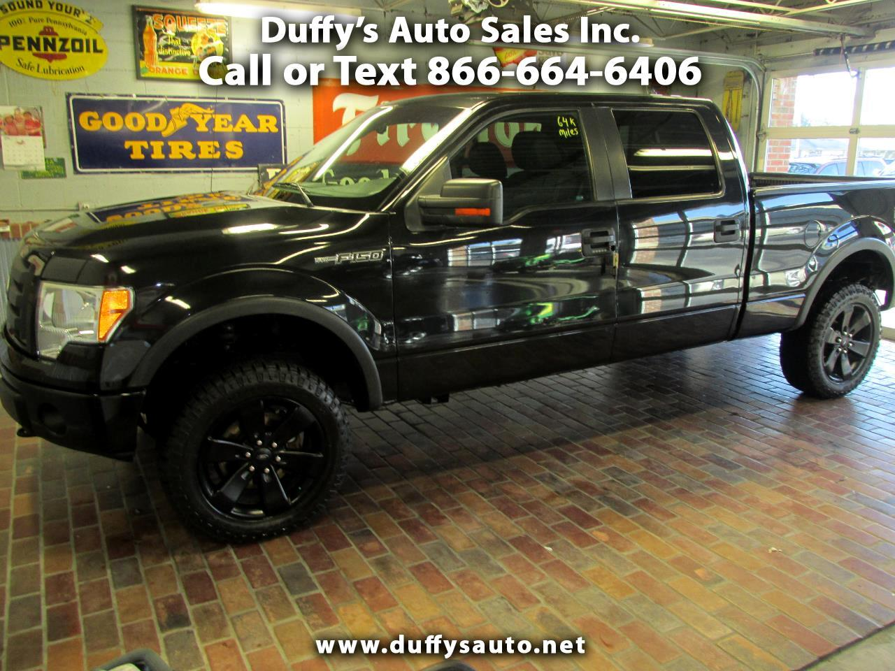 2010 Ford F-150 4WD SuperCrew FX4